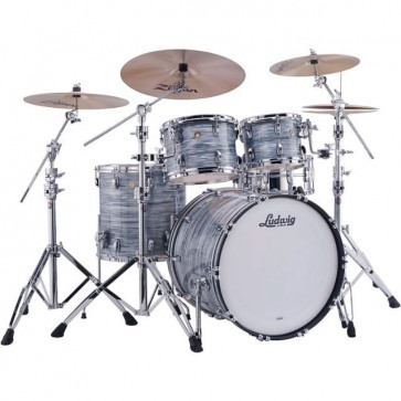 LUDWIG L8424AX2Q CLASSIC MAPLE STAGE22 VINTAGE BLUE OYSTER