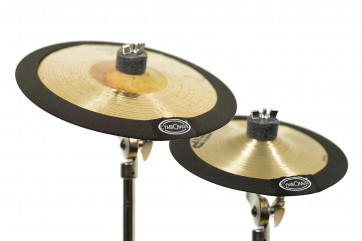 """CYMBOMUTE CM-0810PK PACK 2 SOURDINES CYMBALE 08""""+ 10"""""""