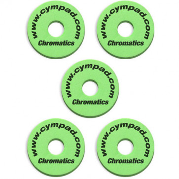CYMPAD CHROMATICS 15MM PACK 5PCS GREEN
