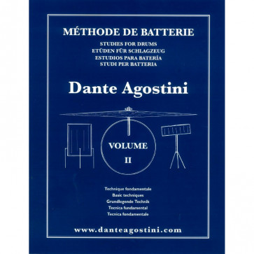 DANTE AGOSTINI METHODE DE BATTERIE VOL.2