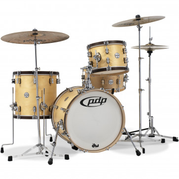PDP CONCEPT CLASSIC 18 MATTE NATURAL WALNUT STAIN HOOPS