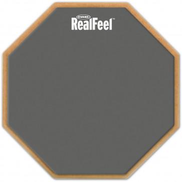 """EVANS RF-12G PRACTICE PAD 12"""" REALFEEL STANDARD"""