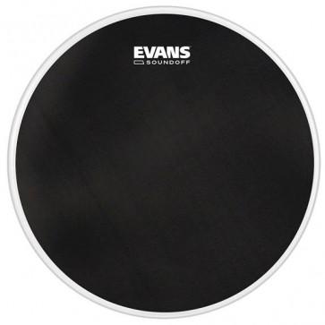 "EVANS SOUNDOFF DRUMHEAD 20"" BASS BLACK"