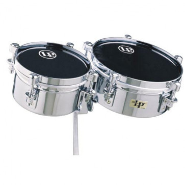 """MINI TIMBALES LP 6""""+8"""" AVEC SUPPORT"""