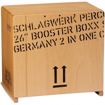 SCHLAGWERK BC460 - CAJON 2INONE BOOSTER BOXX (40 TIMBRES)