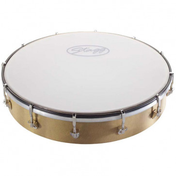 TAMBOURIN STAGG ROND 10 PLASTIQUE ACCORDABLE