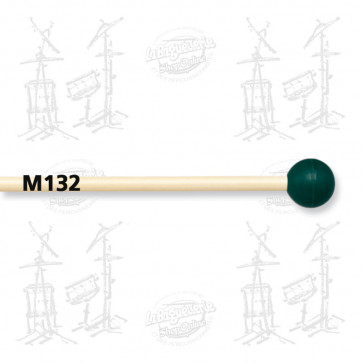 MAILLOCHES VIC FIRTH M132 - ORCHESTRAL XYLO - MEDIUM RUBBER (X2)