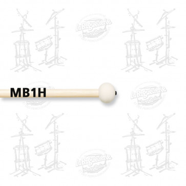 MAILLOCHES VIC FIRTH MB1H POUR GROSSE CAISSE 18/22 (PAIRE)