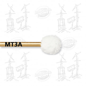 MAILLOCHES VIC FIRTH MT3A - MARCHING BASS DRUM - SOFT FELT