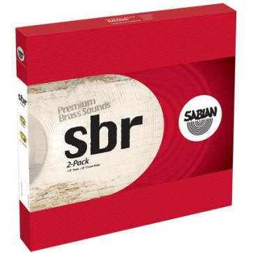 PACK SABIAN SBR 2-PACK (H14/R18)