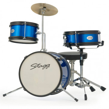 STAGG JUNIOR PACK JUNIOR12 3FUTS BLEUE