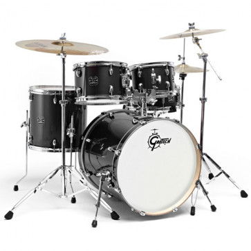 GRETSCH ENERGY GE2 STAGE22 BLACK - 3CYMB