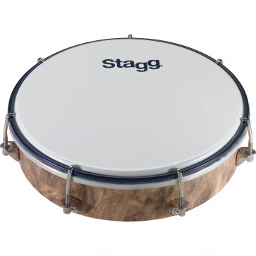 TAMBOURIN STAGG ROND 08 PLASTIQUE ACCORDABLE
