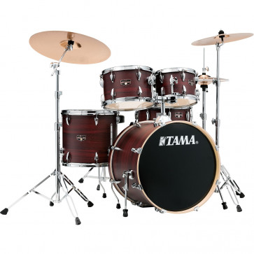 "TAMA IMPERIALSTAR 20""/5PCS MCS BURGUNDY WALNUT WRAP"