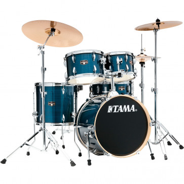 "TAMA IMPERIALSTAR 18""/5PCS MCS HAIRLINE BLUE"
