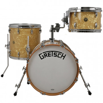 GRETSCH BROADKASTER USA JAZZ18 3FUTS VINTAGE ANTIQUE PEARL