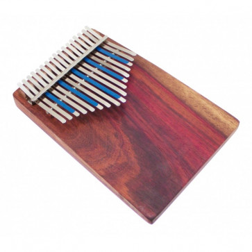 KALIMBA AMI HUGH TRACEY TREBLE CELESTE 17 NOTES SUR TABLE + PICKUP