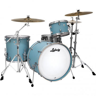 "LUDWIG NEUSONIC 22""/3PCS SKYLINE BLUE"