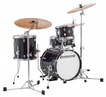 LUDWIG LC179XO16 BREAKBEATS QUESTLOVE BLACK GOLD SPARKLE