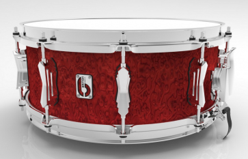 BRITISH DRUM 14X05,5 LEGEND BUCKINGHAM SCARLETT