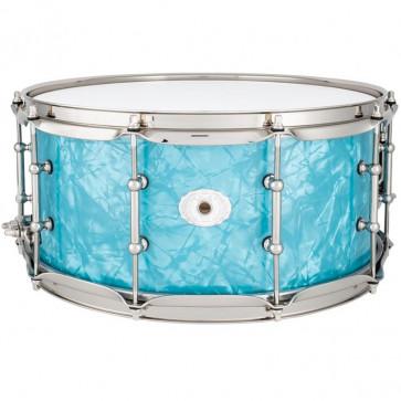 LUDWIG LS403TXGLN 14x06.5 CLASSIC MAPLE GLACIER BLUE