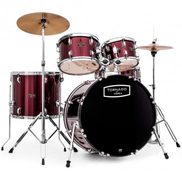 MAPEX TORNADO BATTERIE COMPLETE STAGE22 RED