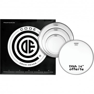 """CODE RESO RING PACK 4PCS 12""""/13""""/16""""CLEAR +DNA14""""COATED"""