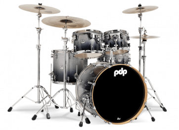 PDP CONCEPT MAPLE CM5 STAGE22 SILVER TO BLACK SPARKLE FADE