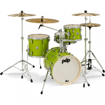 """PDP NEW YORKER 16""""/4PCS ELECTRIC GREEN SPARKLE"""