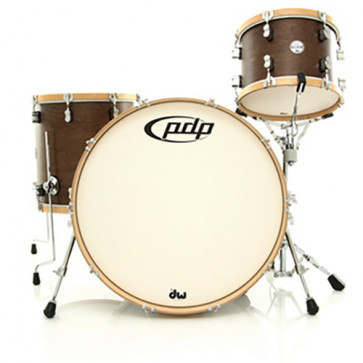 PDP CONCEPT CLASSIC 24 WALNUT STAIN MATTE NATURAL HOOPS