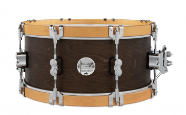 PDP CONCEPT CLASSIC 14X06.5 WALNUT - NATURAL HOOPS