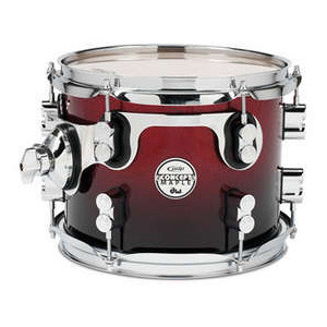 PDP CONCEPT MAPLE 10X08 TOM RED TO BLACK SPARKLE FADE