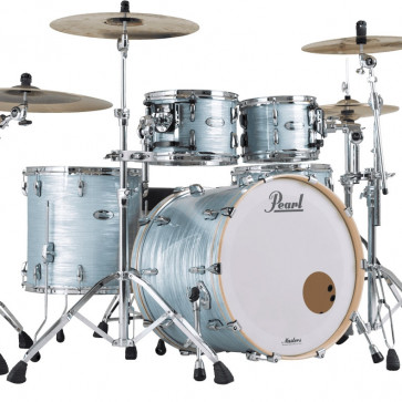PEARL MASTERS MAPLE COMPLETE STAGE22 ICE BLUE OYSTER