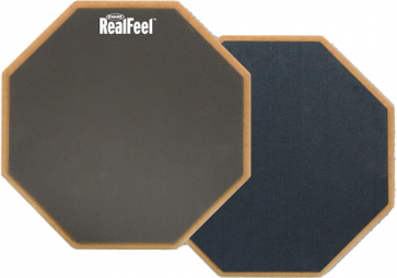 "EVANS RF-12D PRACTICE PAD 12"" REALFEEL DOUBLE FACE"