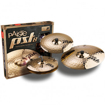 PACK PAISTE PST8 REFLECTOR ROCK (H14/C16/R20)