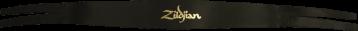 ZILDJIAN LANIERES CYMBALES P0750 CUIR (LA PAIRE)