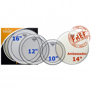 PACK REMO PINSTRIPE CLEAR 10/12/16 +AMB14 COATED