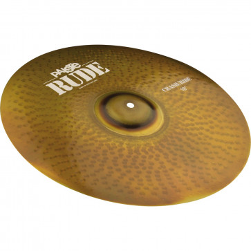 CRASH PAISTE 18 RUDE CRASH/RIDE