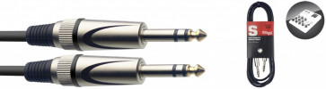 CABLE STAGG SAC1PSDL JACK/JACK STEREO (1M)