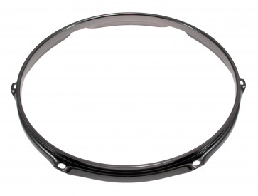 "SPAREDRUM H23126BK CERCLE 12"" / 6 TIRANTS TRIPLE FLANGE BLACK 2,3mm"