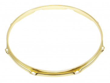 "SPAREDRUM H23168BR CERCLE 16"" / 8 TIRANTS TRIPLE FLANGE GOLD 2,3mm"