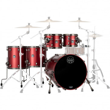 "MAPEX SATURN EVOLUTION 22""/5PCS TUSCAN RED"