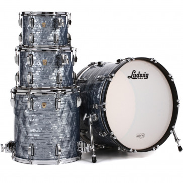 LUDWIG L8424AX52 CLASSIC MAPLE STAGE22 BLUE SKY PEARL