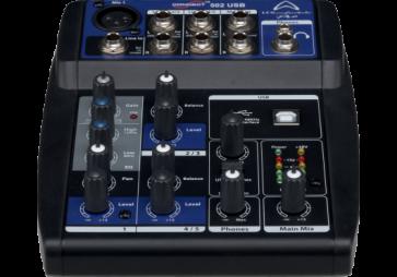 WHARFEDALE CONNECT502 USB Console de mixage 5 canaux