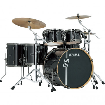 "TAMA SUPERSTAR HYPER-DRIVE MAPLE 22""/5PCS BRUSHED CHARCOAL BLACK"