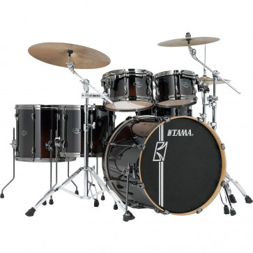 "TAMA SUPERSTAR HYPER-DRIVE MAPLE 22""/5PCS DARK MOCHA FADE"