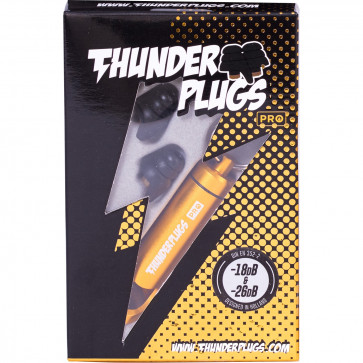 THUNDER PLUGS PROTECTIONS AUDITIVES PRO -18DB/-26DB