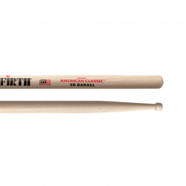 VIC FIRTH 5B AMERICAN CLASSIC BARREL