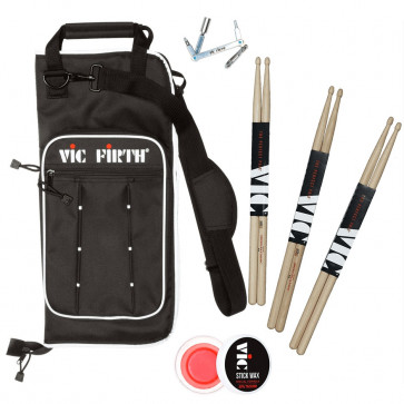 PACK VIC FIRTH 5A 3PAIRES +HOUSSE +CLE +WAX