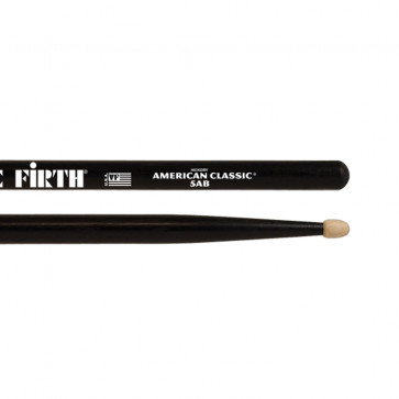 VIC FIRTH 5AB AMERICAN CLASSIC HICKORY BLACK